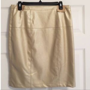 Bagatelle Faux leather skirt